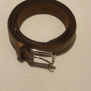 Brooks Brothers leather belt